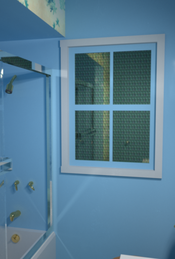 Shower and window