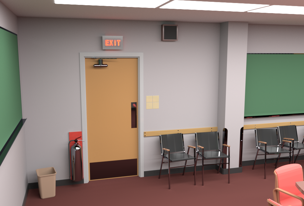 Conference Room rendered by RenderMan (camera 2).
