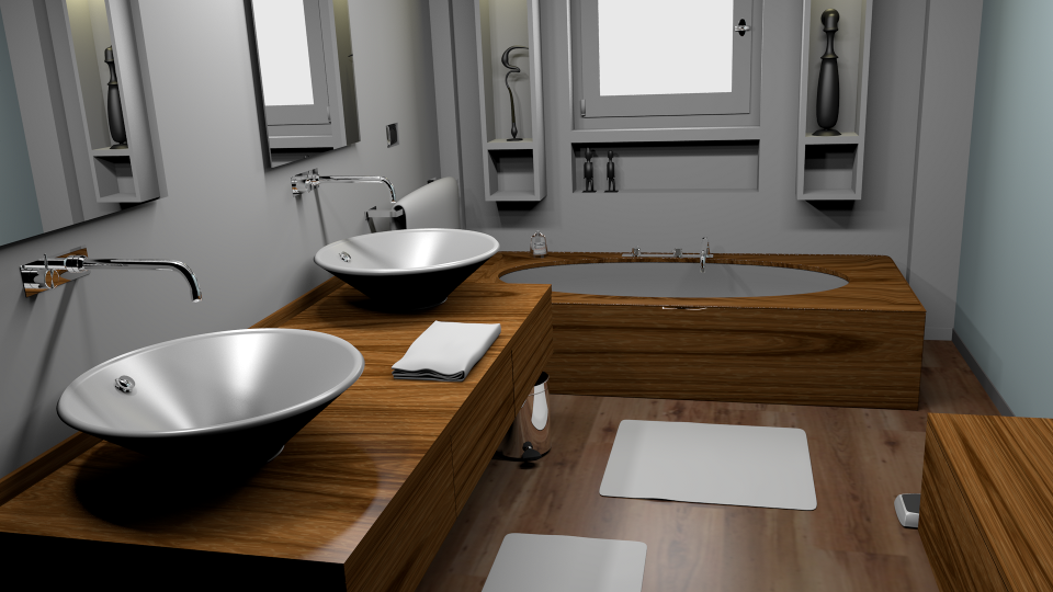 Direct lighting: No bounces for diffuse or specular (glossy).