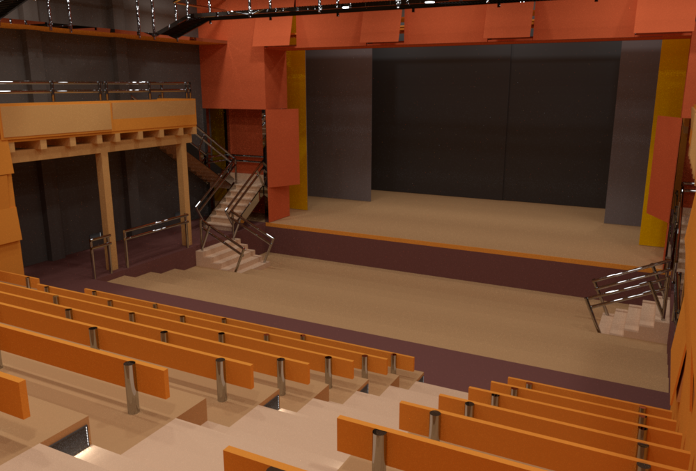 Theater rendered byrs_pbrt